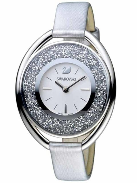 Swarovski Crystalline Oval Gray Ladies Watch 5263907 for sale online ... 8e3eb1a6b2