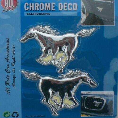 CAVALLI distintivi X2 autoadesivo per Cavallo Box Rimorchio Auto Equestre Cartello Adesivo