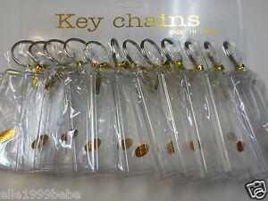 Lot-of-12-pcs-Photo-Key-Chains-Fits-Photo-Size-1-75-034-x-2-75-034-Plastic-New