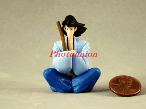 Cake Topper Lupin the Third 3rd Cartoon Comics Figure Goemon Ishikawa Model A279