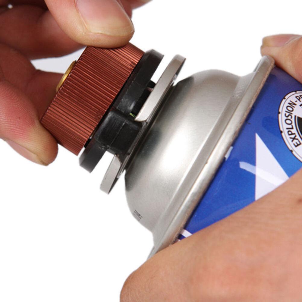 Brûleur de camping tête de conversion du poêle poêle poêle adaptateur de bouteille de gaz e24671
