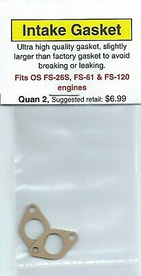 OS FS-120 Crankcase Gasket 2 Pack NIP