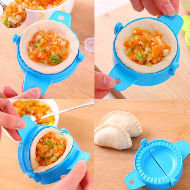 1 pc Kitchen Plastic Dough Press Dumpling Pie Maker Making Mould Mold DIY Tools