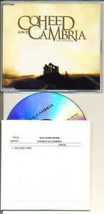 Details about COHEED and CAMBRIA 2 RARE Australian PROMO CD Singles The  Suffering Welcome Home