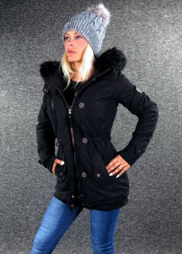 Damen Winterjacke HAILYS Winter Parka H161 Schwarz XS S M L XL XXL 2018//19 NEU