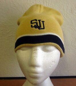 6f432cac ST. JOHN'S TITANS beanie cap Toledo knit winter hat Catholic High ...