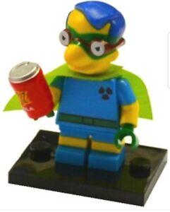 Lego Fallout Boy Milhouse Simpsons Minifigur Serie 2 colsim2-6 Neu Legofigur