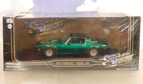 1/43 Greenlight 1977 Pontiac Firebird Trans-Am Smokey And The Bandit I 1 Grün Spielzeugautos