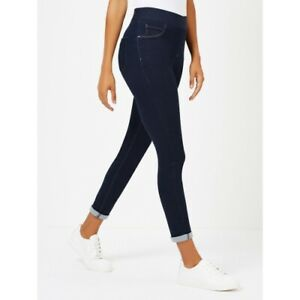 Ladies-Ex-Famous-Brand-Skinny-Fit-Pull-On-Womens-Pants-Stretch-Ankle-Jeggings