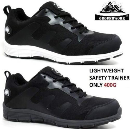 NEW WOMENS LADIES MENS ULTRA LIGHTWEIGHT STEEL TOE CAP SAFETY TRAINER SHOES