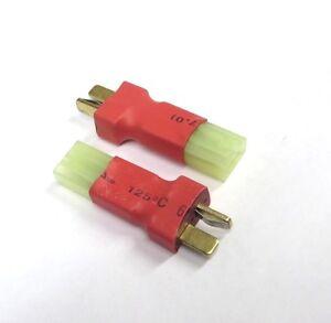 3 XT-60 Adapters Mini-Tamiya Female to Male XT60 AirSoft Configuration