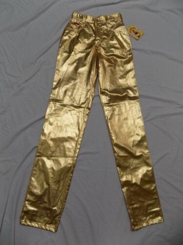 vita Metallizzato Lawman alta New 25x36 Pantaloni Rodeo Shiny Tribute 7 Gold a Western Jr x0IqfA