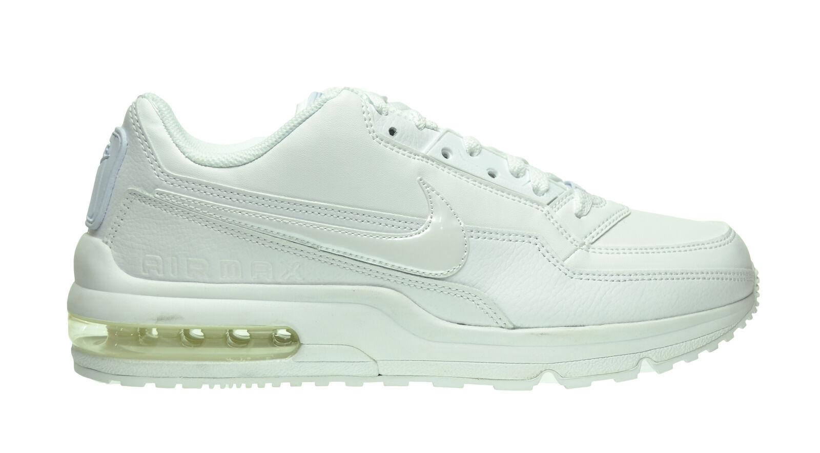 new styles 3ba0f b5cf2 ... new arrivals nike air max ltd 3 hommes blanc chaussures blanc blanc  blanc hommes 687977 111
