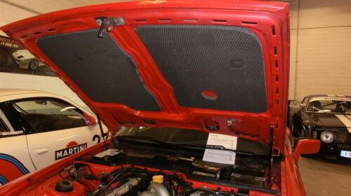 Porsche 924 944 Capot dämmatte Isolation structure mousse