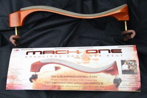 Mach One Ahorn Schulterstütze für 4 4 und 3 4 Violine, Shoulder Rest