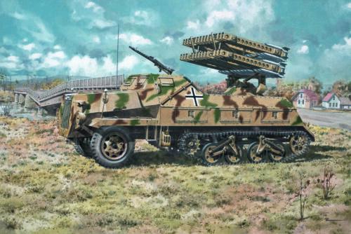 late 4//1 Panzerwerfer 42 Roden 714-1:72 Sd.Kfz - Neu