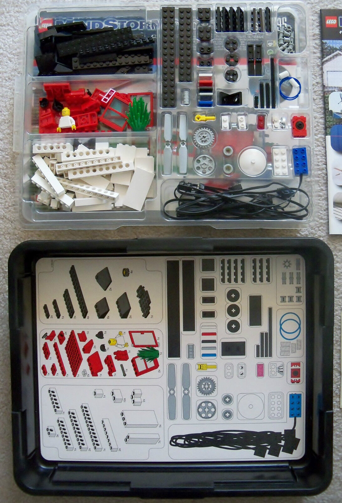LEGO - Mindstorms ROBOLAB RCX - - - Rare - 9795 Intelligent House Building Set 324827