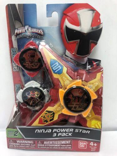 Ninja Power Star Pack Power Rangers Ninja Steel 43761