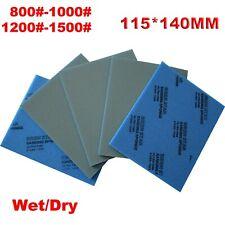 800 10001200 1500 115140mm Grit Wet Dry Sandpaper Abrasive Sponge Sand Paper