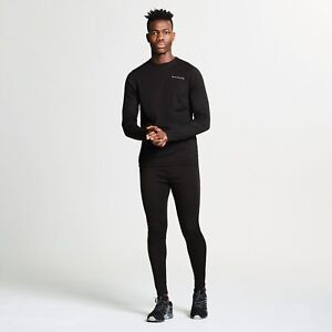 DARE-2B-MEN-039-S-INSULATE-BASE-LAYER-SET-BLACK-TOP-AND-TROUSERS-DMU305