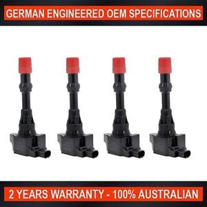 4-x-Ignition-Coil-Intake-Side-for-Honda-Civic-Hybrid-1-3L-Honda-Jazz-1-3L