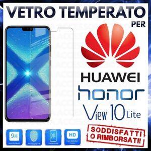 Pellicola-in-VETRO-TEMPERATO-per-HUAWEI-HONOR-VIEW-10-LITE-Proteggi-Schermo-LCD
