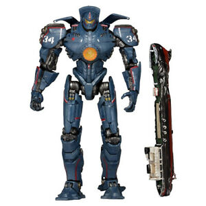 NECA-Pacific-Rim-Gipsy-Danger-Hong-Kong-Brawl-7-034-Action-Figure-Robot-Series-4