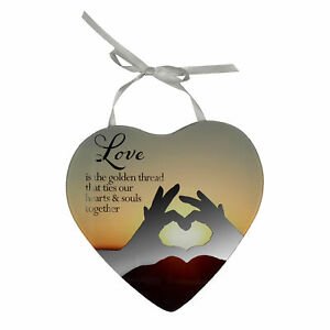 Love-Is-The-Thread-Reflections-From-The-Heart-Mirrored-Hanging-Plaque-Gift