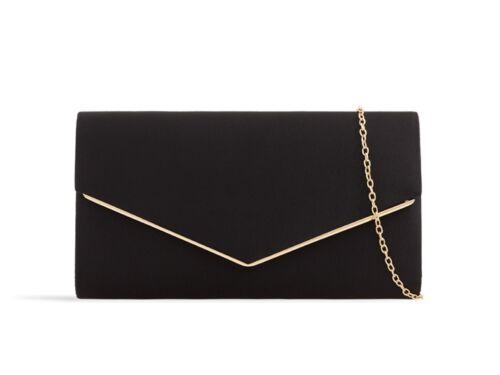 LeahWard® Women/'s Satin Clutch Bag Wedding Party Flap Handbags