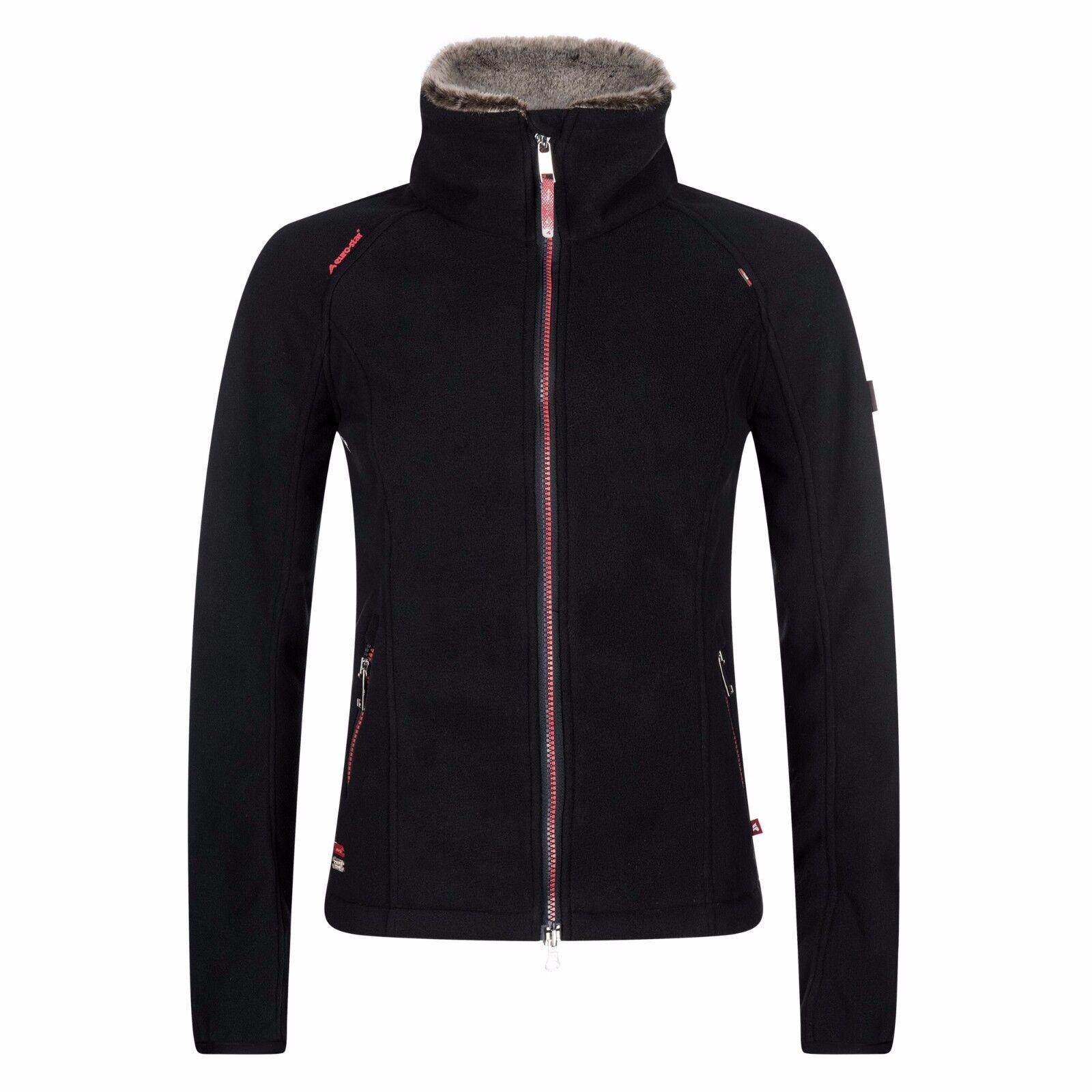 Euro Star señora Fleece chaqueta valmira, negro, talla XL nuevo    otoño invierno 2017