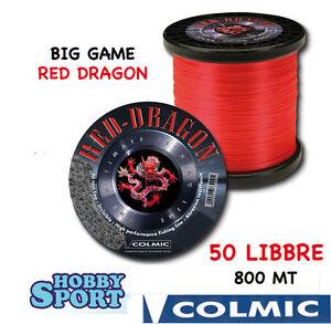 FILO-NYLON-TRAINA-BIG-GAME-50-LB-RED-DRAGON-COLMIC-mt-800