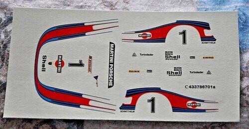 DECAL Porsche 935 78 #1 Martini Racing Moby Dick Winner 6h Silverston CARTOGRAF