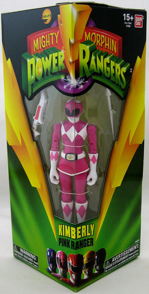Mighty Morphin Power Rangers 5 Inch Action Figure - Rosa Ranger Kimberly