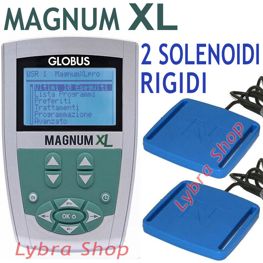 Globus G3218 MAGNUM XL - 2 Solenoidi RIGIDI 400 Gauss magnetoterapia terapia