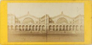 Francia-Parigi-Gare-Da-L-E-Strasburgo-Foto-Stereo-Vintage-Albumina-P61L8n12