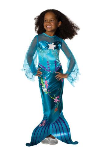 Kinder Kostüm Meerjungfrau Nixe Meer Prinzessin
