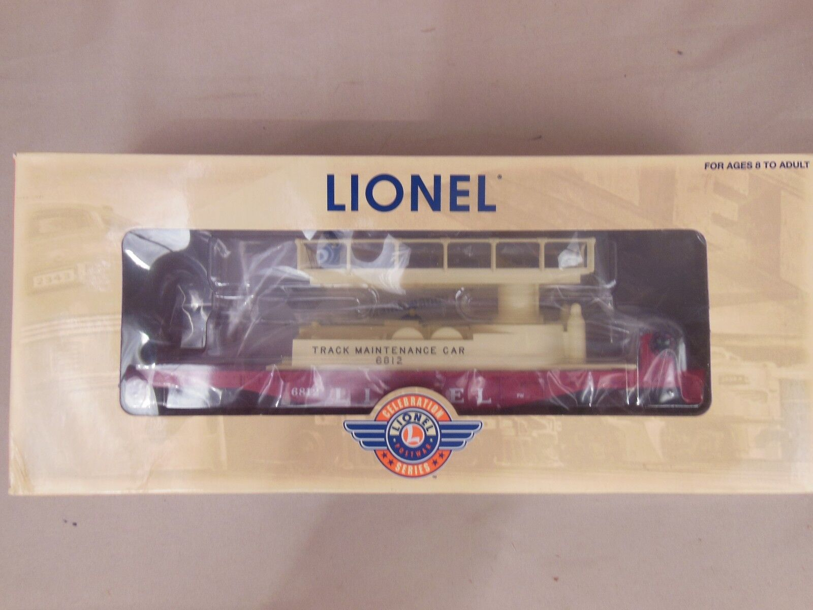 LIONEL 6-36870 MAINTENANCE CAR NEW
