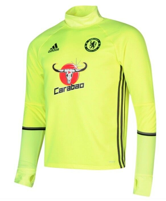 Adidas FC Chelsea Londres Caliente Jersey Camisa yellow black