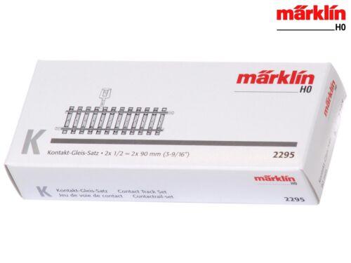 + NUOVO /& OVP Märklin 2295 h0 K-binario contatto binario-Set di 180 mm
