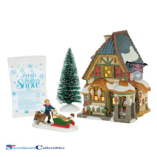 Dept 56 Dickens Village 4056648 Xmas Carol Poulterer Shop Box Set