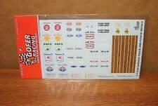 Gofer Racing Decals 1:24-1:25 Gold Letters /& Numbers 11064 GOF11064