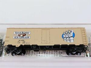 N-Scale-MTL-Micro-Trains-59570-GH-Good-Humor-Ice-Cream-40-039-Reefer-6002-RTR