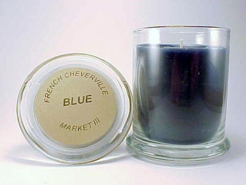 Market III Blue Status Jar Candle Twelve Ounce