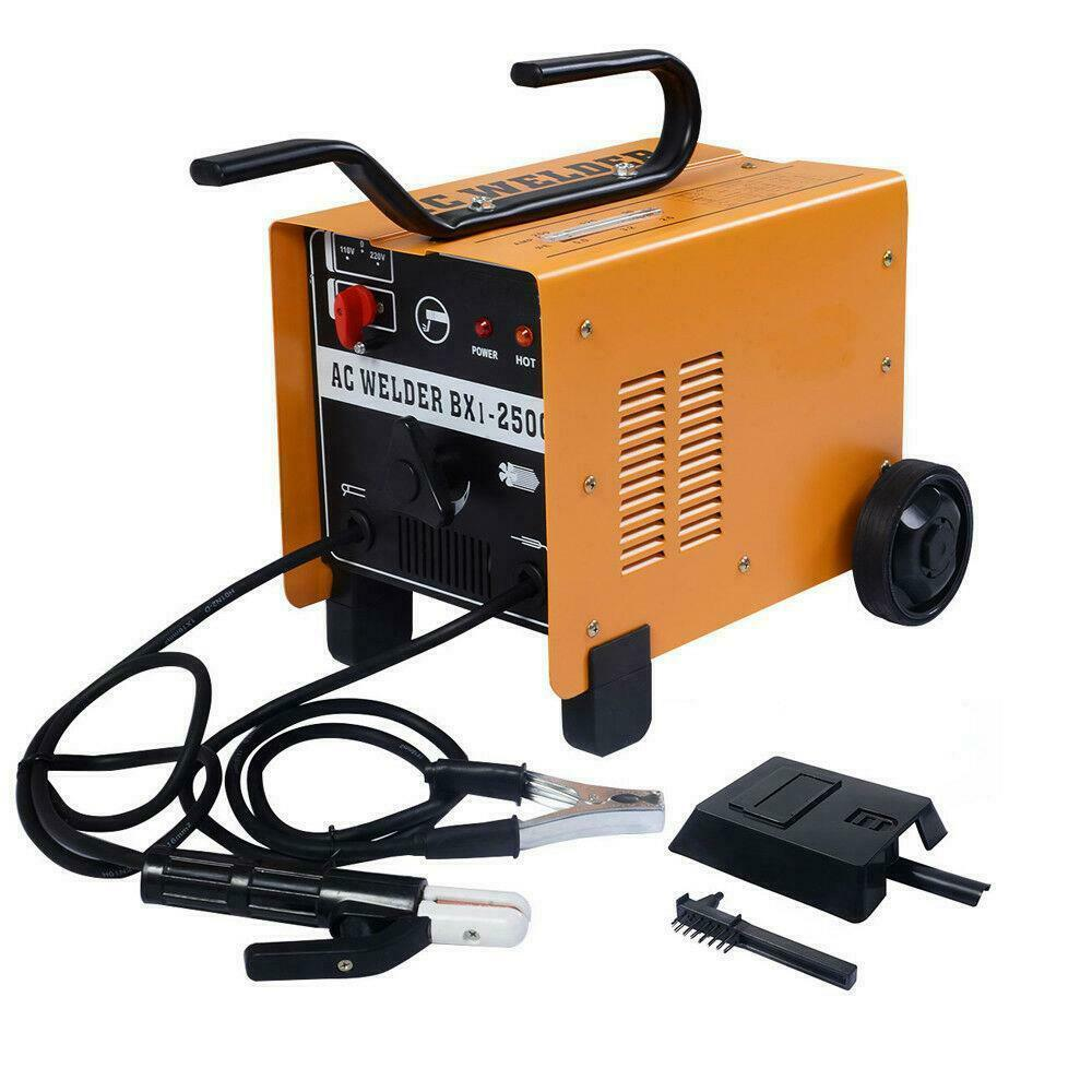 New 250 AMP Welder 110/220V AC ARC Welding Machine Weld w/ Free Mask Accessories. Available Now for 109.98