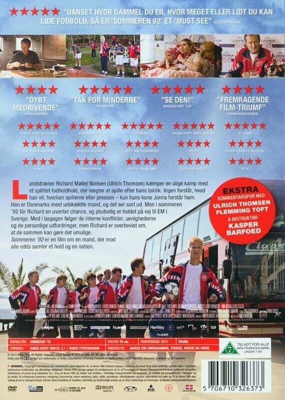 Sommeren 92, instruktør Kasper Barfoed, DVD