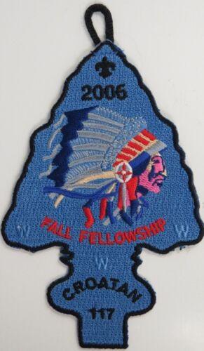 OA 117 Croatan 2006 Fall Fellowship  BLK Bdr C-1944 East Carolina NC
