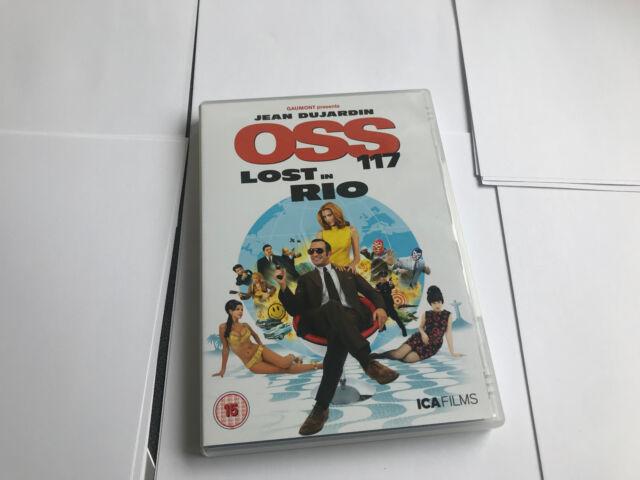 OSS 117: Lost in Rio DVD (2010) Jean Dujardin  EX/EX 5060168380388 [DVDB2]