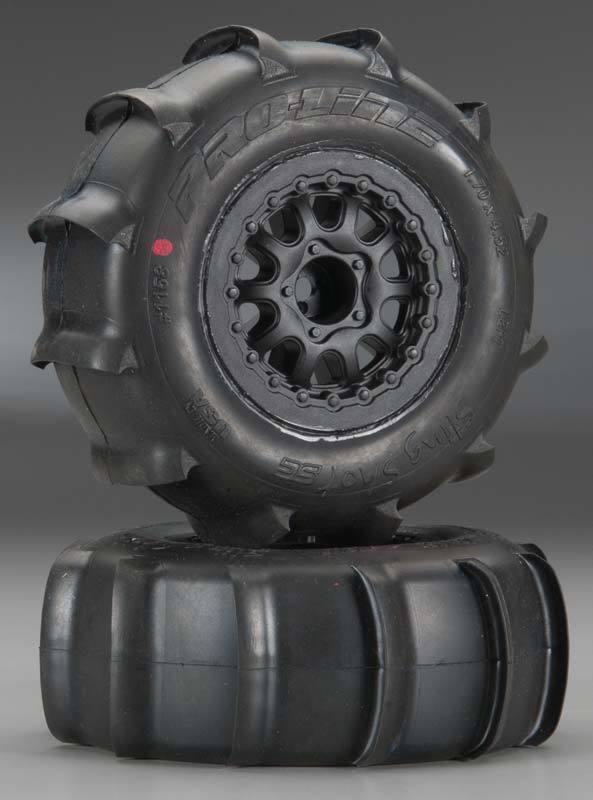 Pro-Line Sling Shot SC 2.2  3.0  XTR Tires Tires Tires (2) Mounted 1158-17 734728