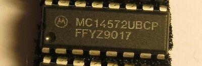 10x MC14526BCP Motorola DIP 16 Presettable 4-Bit IC