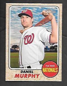 2017 Topps Museum Collection Baseball #60 Daniel Murphy Washington Nationals